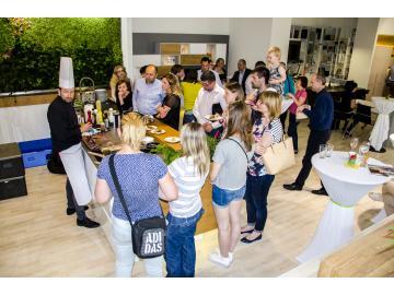 Předváděcí vaření a představení spotřebičů Siemens a Bosch