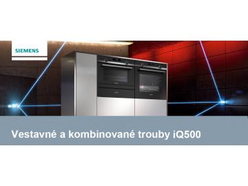 Vestavné a kombinované trouby Siemens iQ500