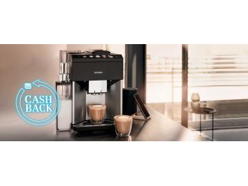 Cashback na kávovary Siemens