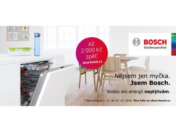 Cashback na myčky Bosch